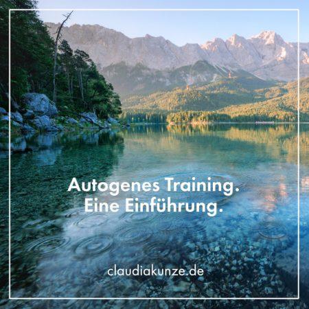Audio-Einführung: Autogenes Training