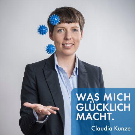 Podcast Was mich glücklich macht. Ein Podcast von Claudia Kunze.